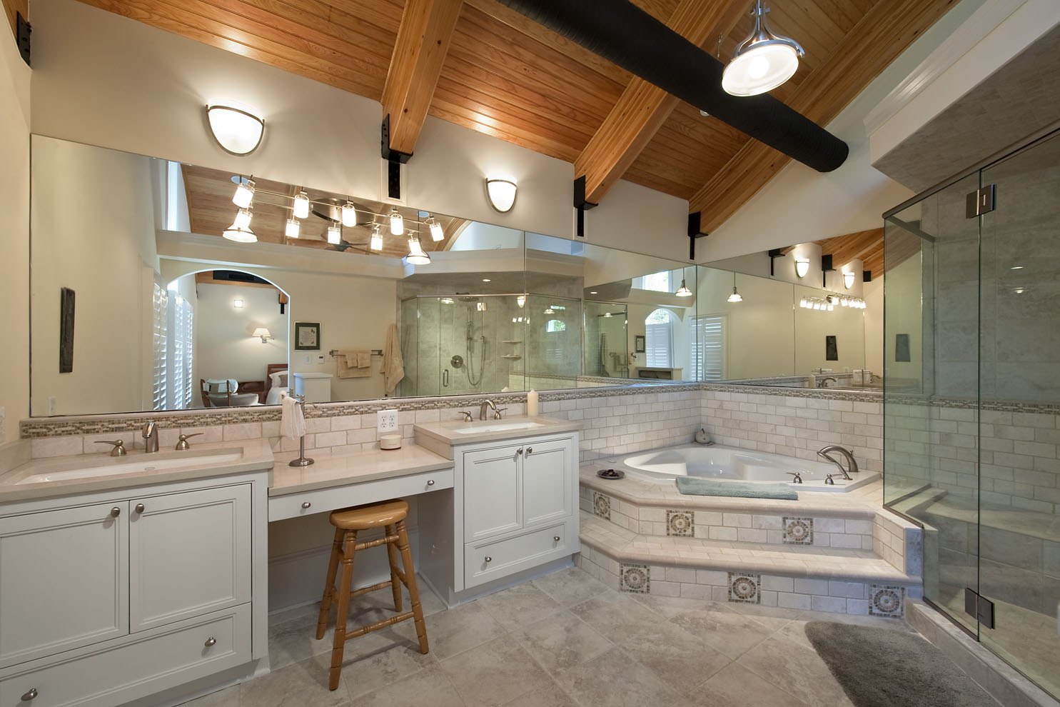 private beach house master bath single family