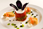 Tuna stack appetizer-Carl Kravats Food Photographer
