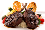 Venison Chops-Carl Kravats Food Photography