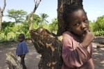 Children displaced by Lord's Resistance Army (LRA) attacks on their village.  Initially a Ugandan problem, the LRA has wreaked havoc across the entire region with recent activities centered on the border region between Western Equatoria State, the Democratic Republic of Congo and the Central African Republic.Yambio, Western Equatoria State