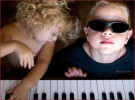 Kids with Piano-Musicman Photography