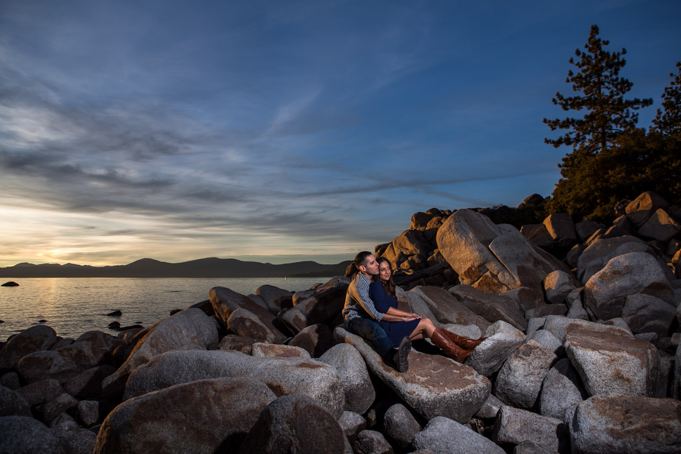 Lake-tahoe-engagement-sunset-2