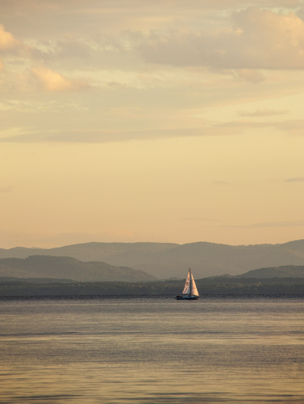 Adirondack Sail Sunset 3