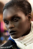 cool headshot of african girl model.