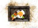 Bacon & EggCreated by Executive Chef, Uwe Opocensky,served at the Mandarin Oriental Grill+ Bar, HK