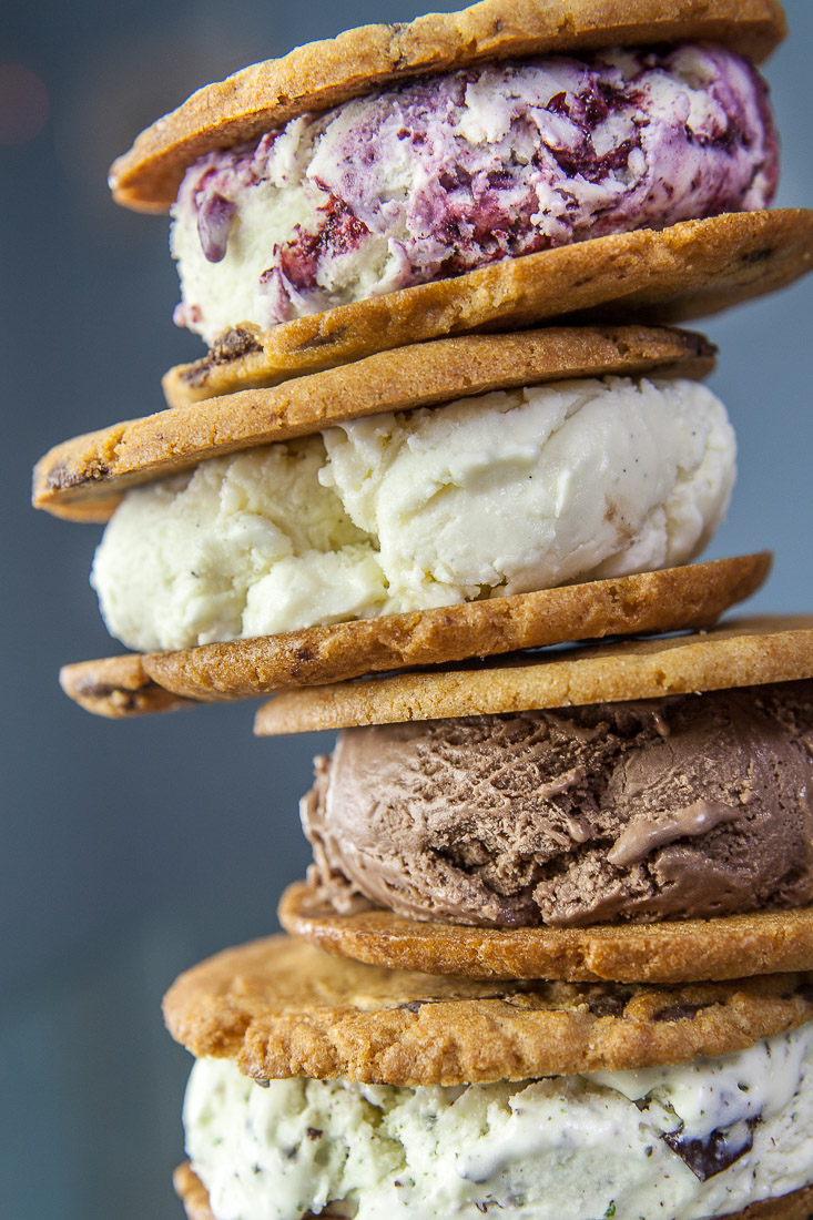 Ice Cream Sandwich Tower, Sweet Republic, Scottsdale, AZ