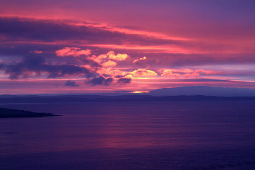 Whalsay-sunset