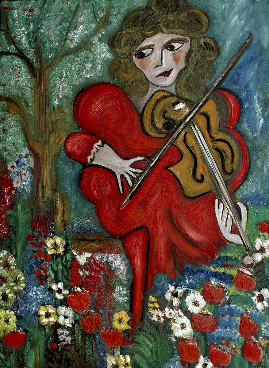 The Girl Playing the Violin