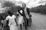 Naomi Watts visits Usalama village near Kibwezi in the Southern part of Kenya.