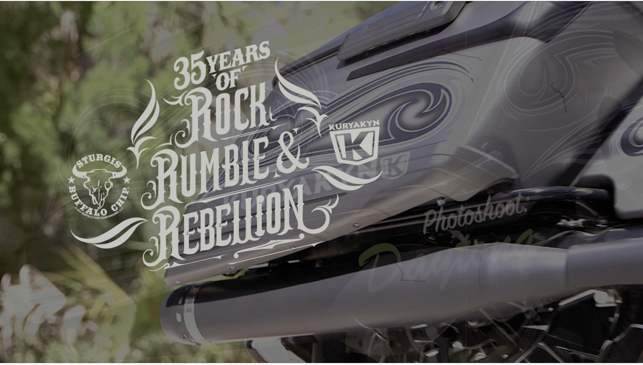 A video we did for the photoshoot of this bike built by Kuryakyn for the Buffalo Chip 35th anniversary.