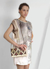 42922: FEIRA TUNIC-PETAL GREY __50431: MONROE BAG-WHEAT__81508: ULAINA NECKLACE-GOLD