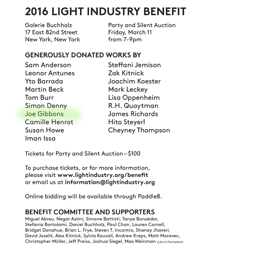 Light Industry Benefit