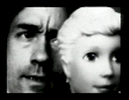 ©Joe Gibbons with Barbie, still from 'Barbie's Audition' pixelvision video