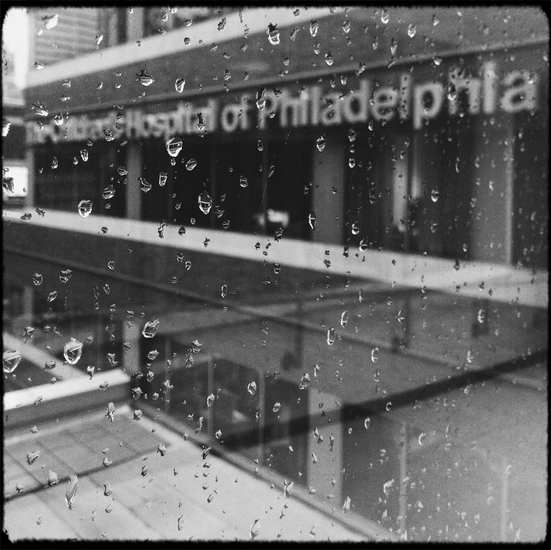 Every time that we went to CHOP before moving to Philly, it was raining. Never a hard, storm rain, it was always a very melencholy, peaceful, pensive rain.
