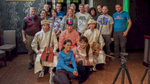 Group Photo with Mongolian musicians.  Photo Courtesy of Mongolia Photo Tour