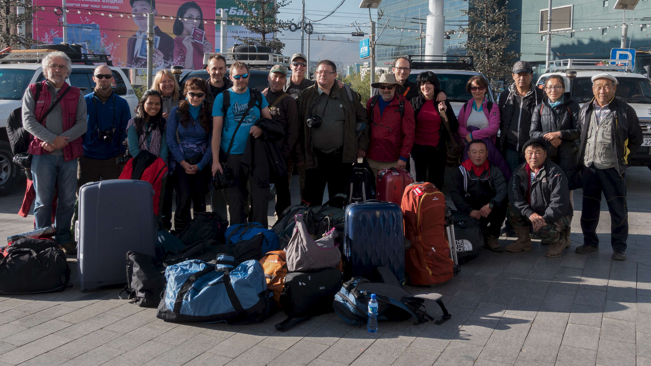 Leaving Ulaanbaatar (Day One).  Photo Courtesy of Mongolia Photo Tour  (Jonathan Stewart & Matt Granger)