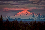 Mount Baker captured from sister's balcony
